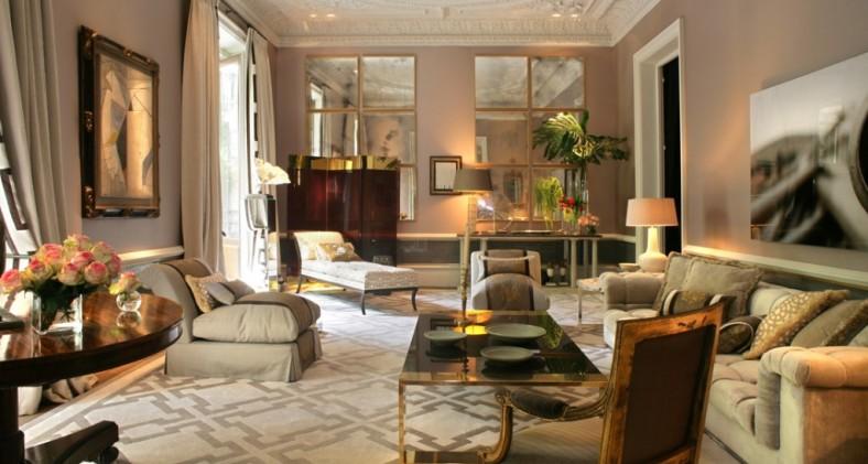 Luis puerta decorador - Salones clasicos fotos ...